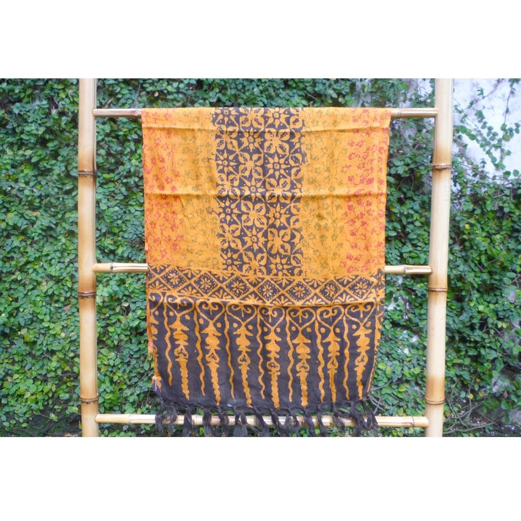 Syal Motif Asorted Batik Carisouvenir Selenddang
